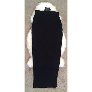 Bodycon maxi skirt